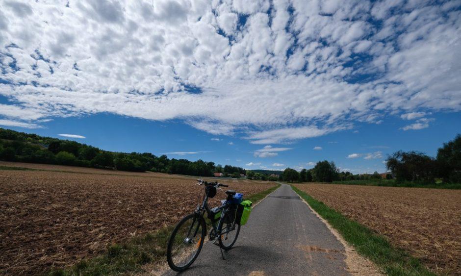 strada romantica bicicletta baviera tappa Tauberbischofsheim wurzburg itinerario ciclabile
