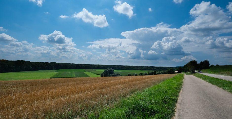 strada romantica bicicletta baviera tappa augusta donauworth panorama