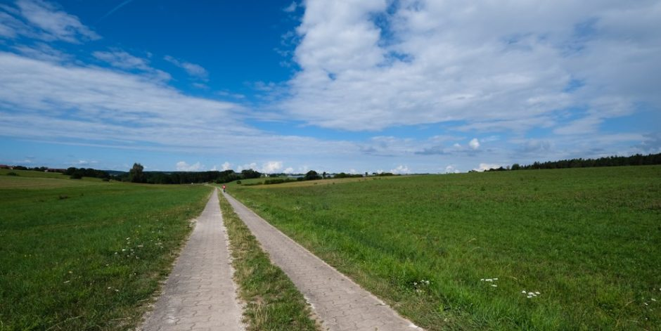 trada romantica bicicletta baviera tappa dinkelsbuhl rothenburg pista ciclabile
