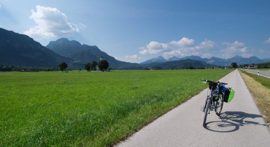 strada romantica bicicletta baviera tappa fussen Schongau 0