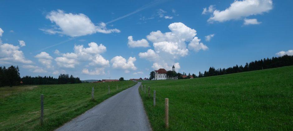 strada romantica bicicletta baviera tappa fussen Schongau 1