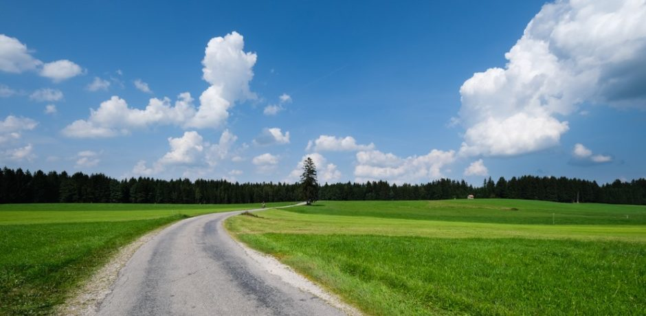strada romantica bicicletta baviera tappa fussen Schongau