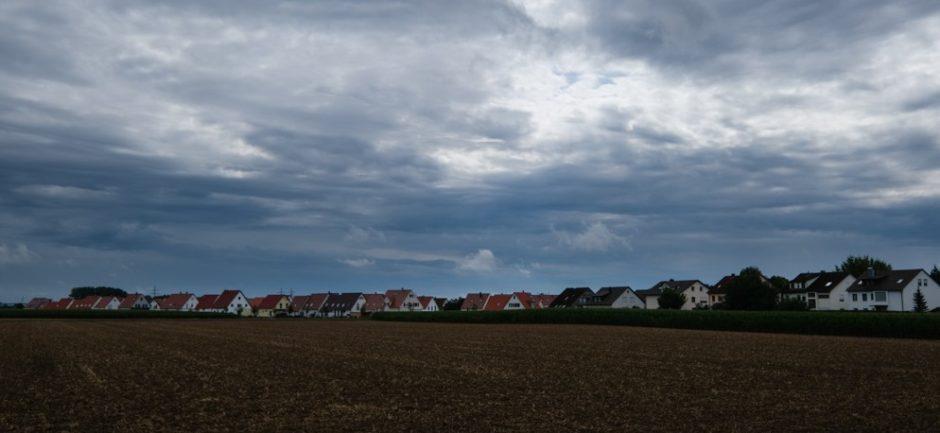strada romantica bicicletta baviera tappa nordlingen dinkelsbuhl nuvole