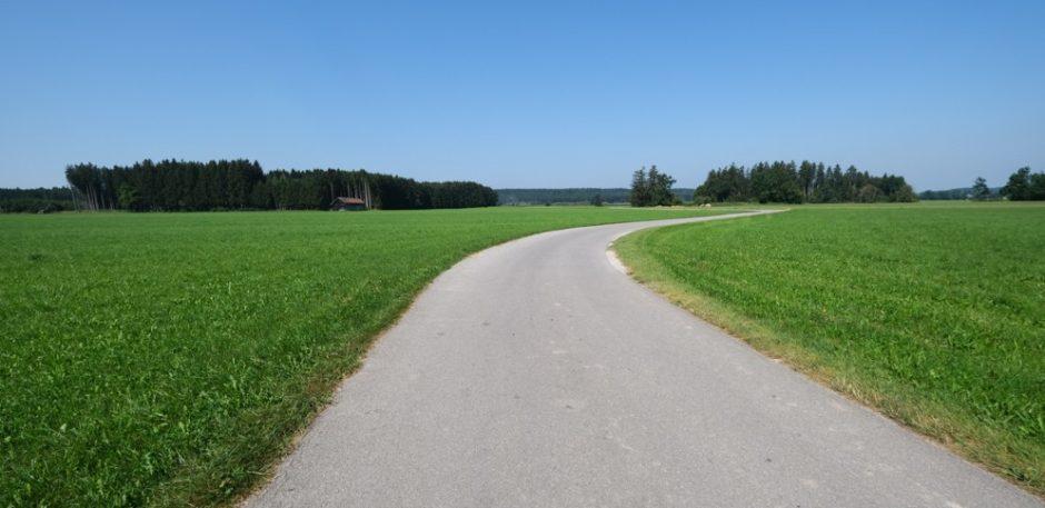 strada romantica bicicletta baviera tappa schongau landsberg am lech