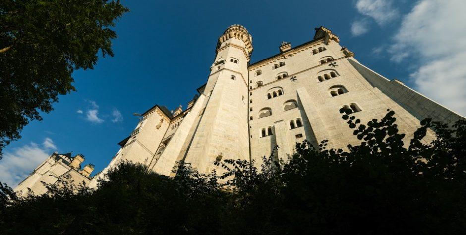 strada romantica romantische strasse bicicletta castello neuschwanstein