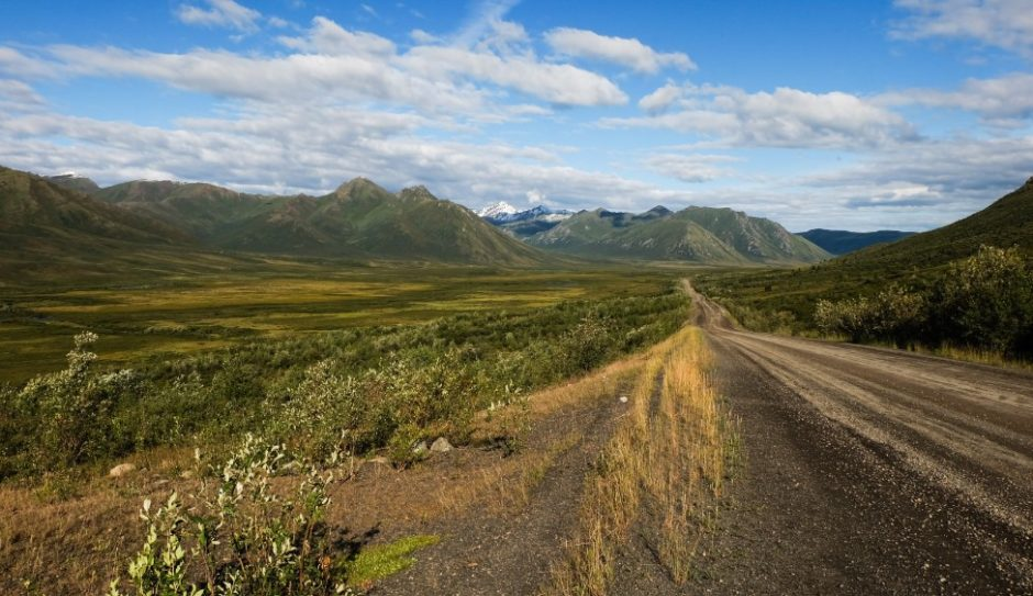 strada tombstone national park canada dempster highway