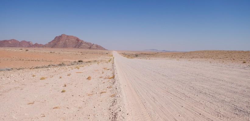 strada viaggio in namibia