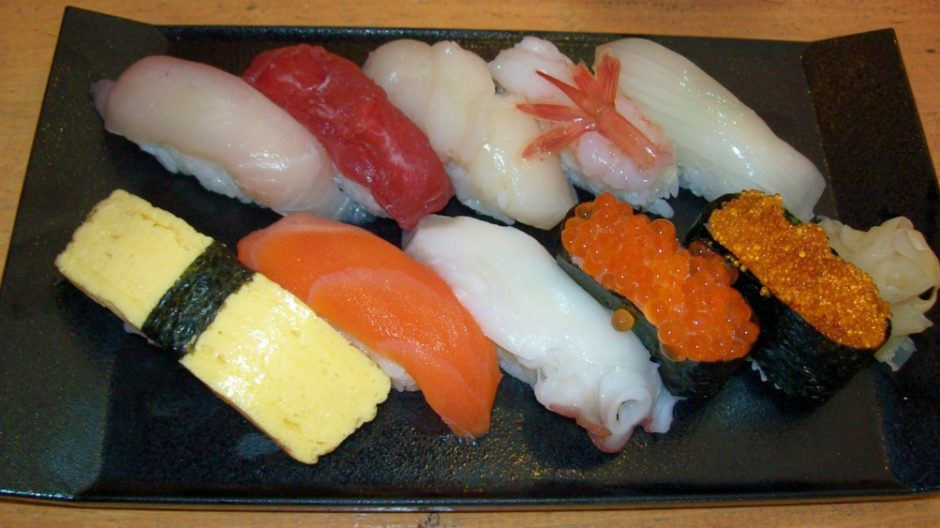 sushi giappone