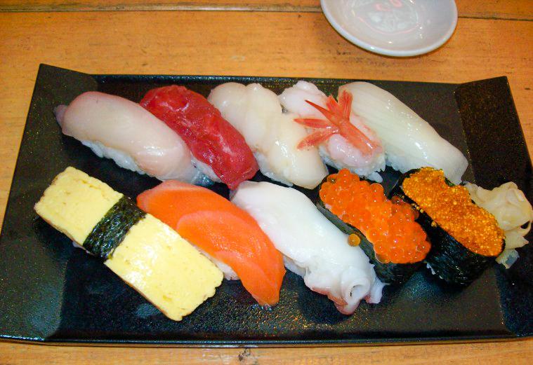 sushi otaru giappone