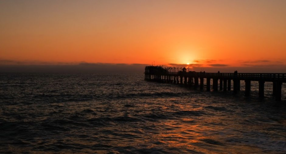 swakopmund tramonto namibia