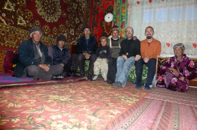 Tagikistan: a casa del cacciatore