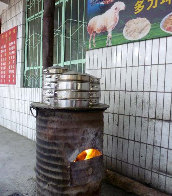 tashkurgan cucina di strada