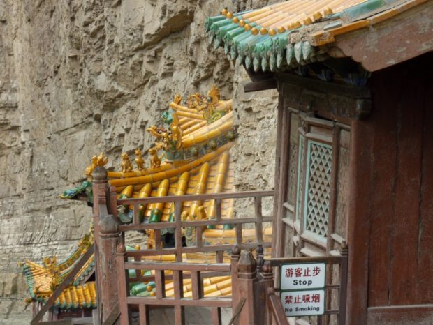 tempio sospeso cina datong