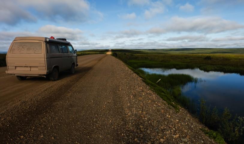 territori del nord ovest dempster highway canada
