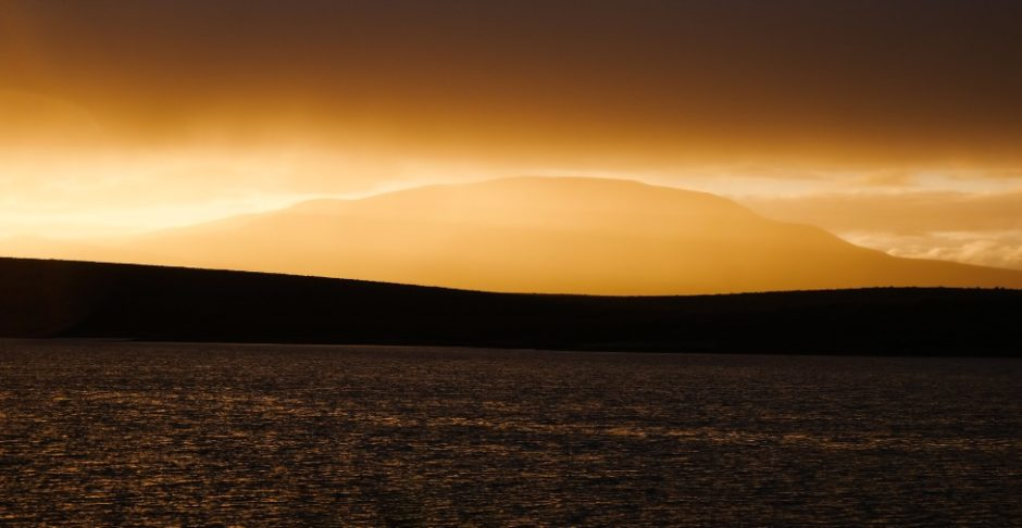 tombstone national park canada dempster highway tramonto