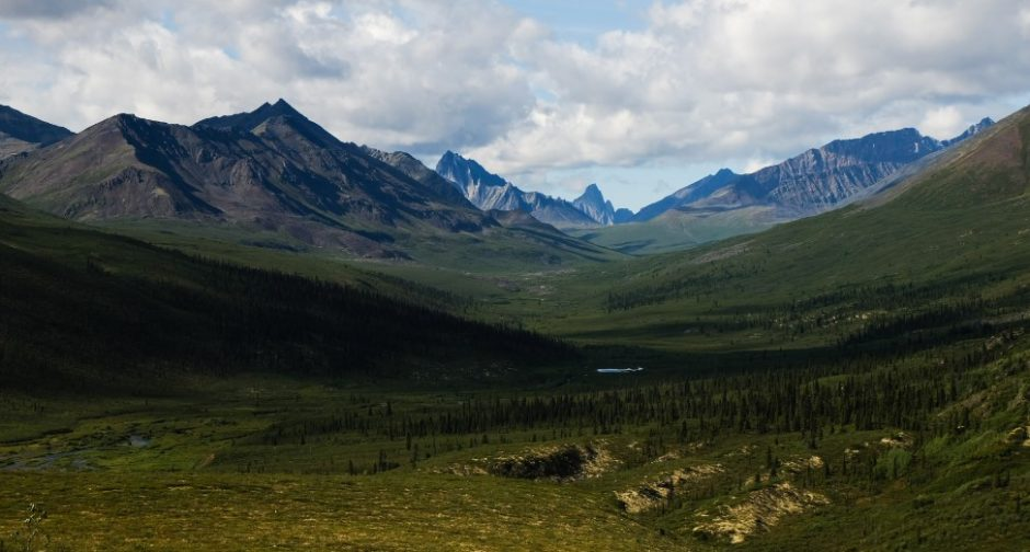 tombstone national park canada dempster highway vallata