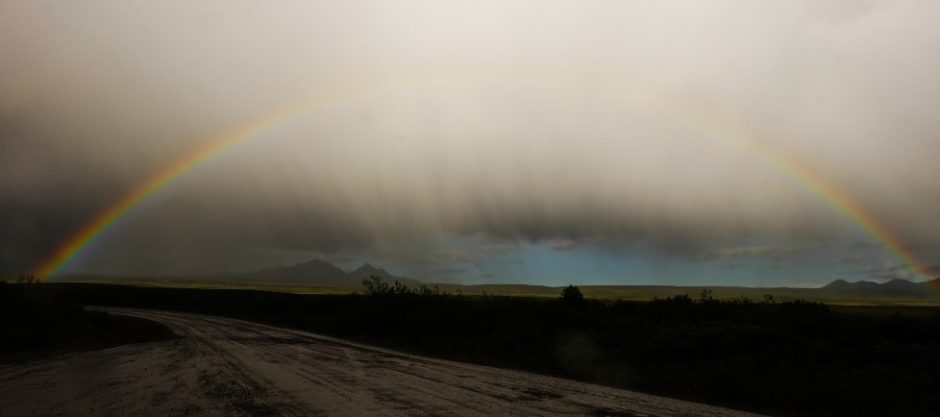 tombstone national park dempster highway arcobaleno