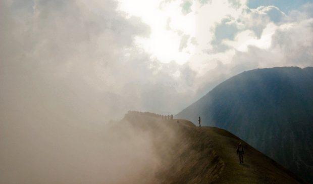 trekking cratere vulcano bromo indonesia