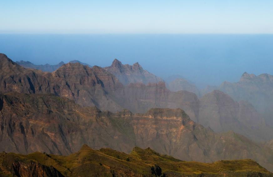 trekking espongeiro coculi deviazione santo antao panorama