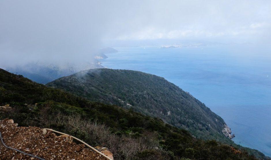 trekking grande traversata isola elba GTE cavo porto azzurro