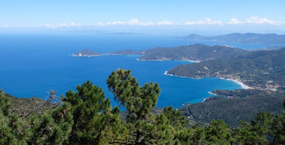 trekking grande traversata isola elba GTE monte perone panorama