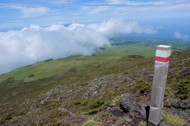 trekking pico azzorre