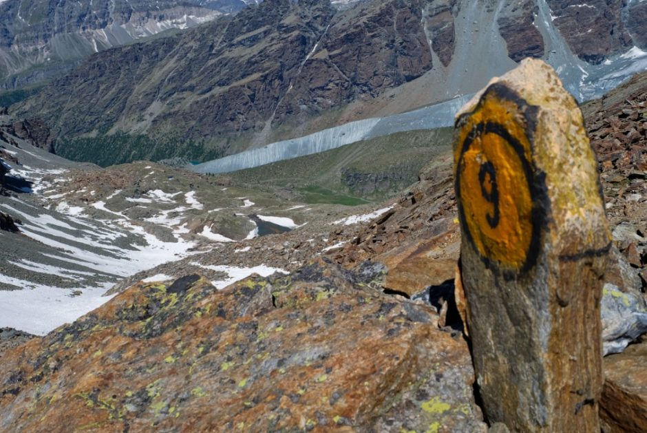 trekking rifugo quintino sella