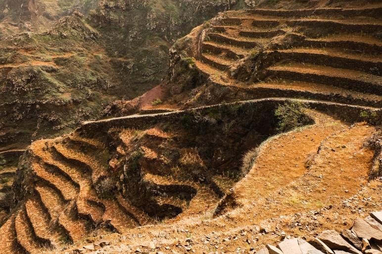 trekking santo antao terrazze coltivate sentiero