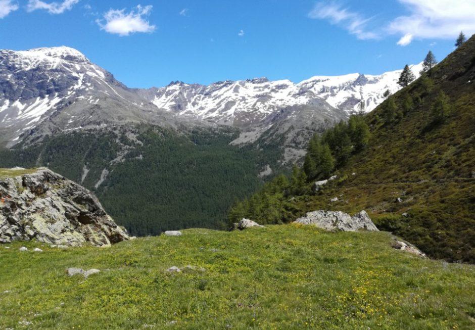 trekking via ferrata di casimiro val di rhemes valle aosta escursione