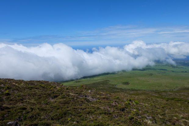 trekking vulcano pico azzorre