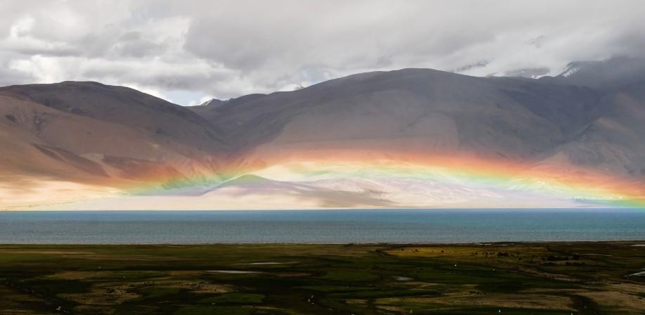 tso moriri arcobaleno ladakh
