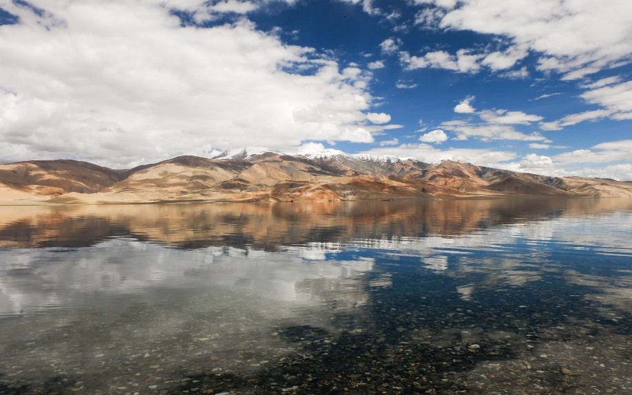 tso moriri lago ladakh himalaya