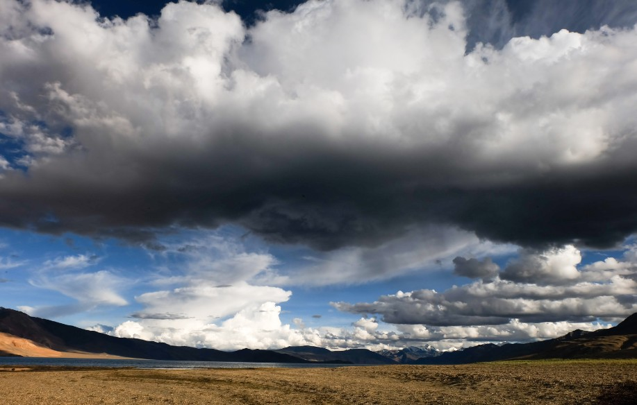 tso moriri nuvole ladakh