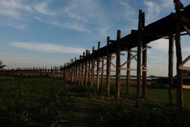 u-bein amarapura birmania