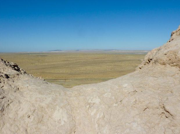uzbekistan steppa dal castello