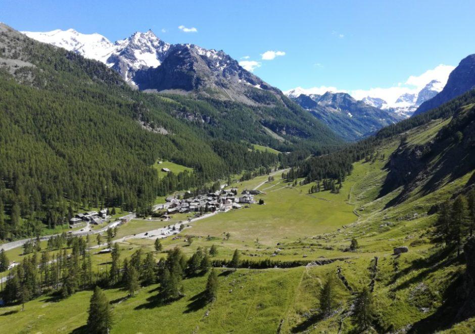 via ferrata di casimiro val di rhemes valle aosta escursione gita