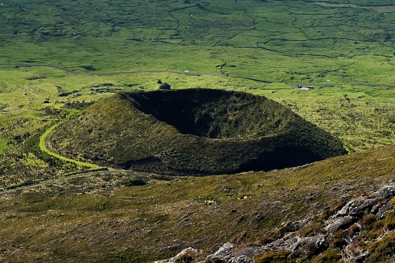 Viaggio alle Azzorre vulcano