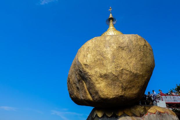 Birmania: la roccia d'oro (golden rock)