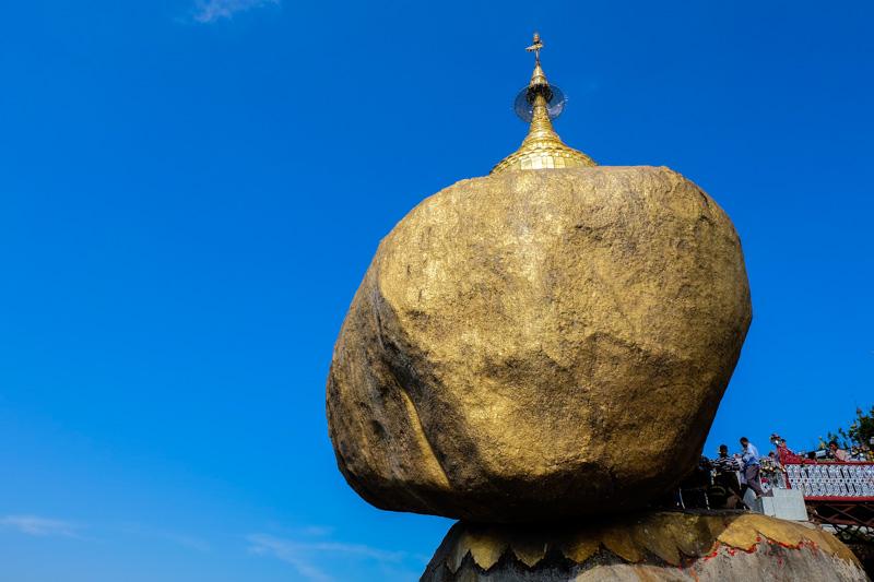 viaggio in Birmania, golden rock