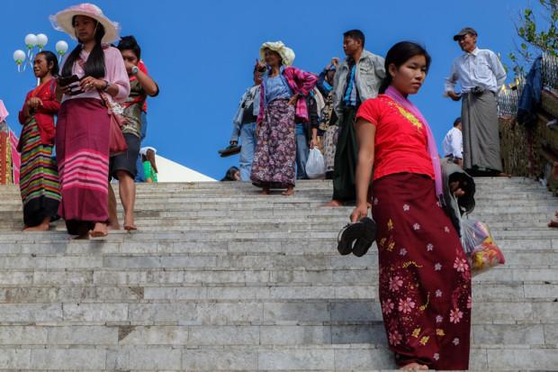viaggio in Birmania, pellegrinaggio