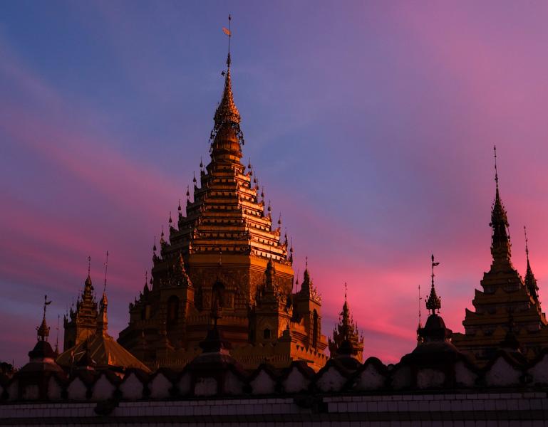 viaggio in Birmania, pagoda