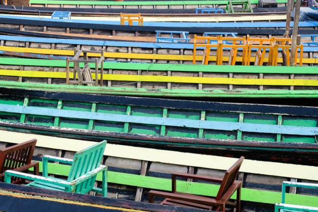 viaggio in Birmania, barche