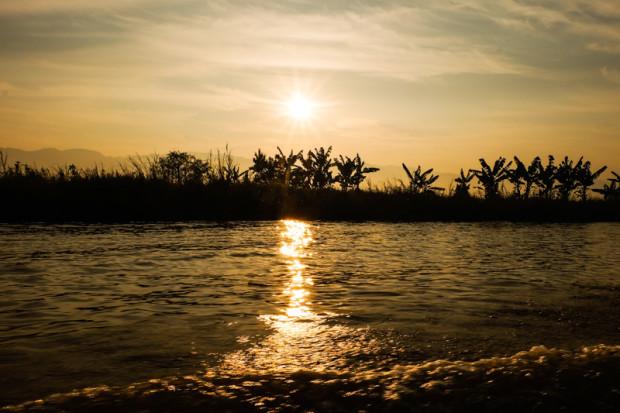 Birmania: in barca sul lago Inle