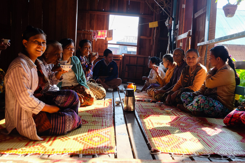 viaggio in Birmania, té