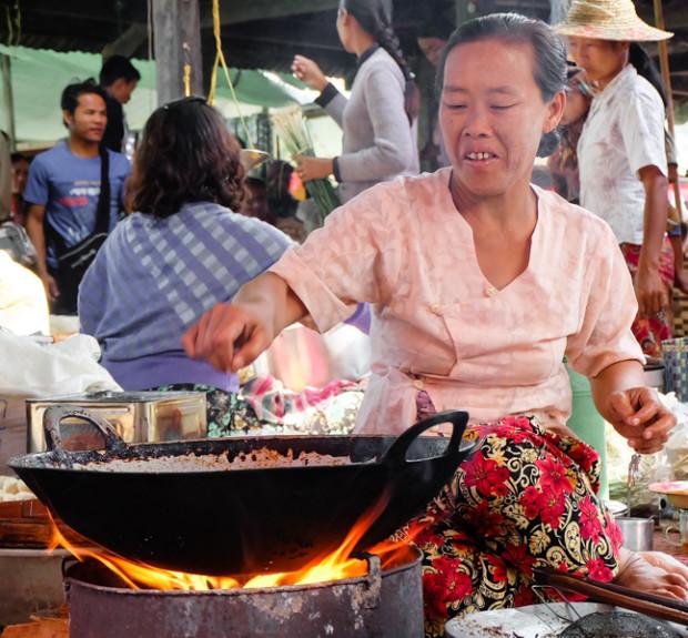 viaggio in Birmania, cucina
