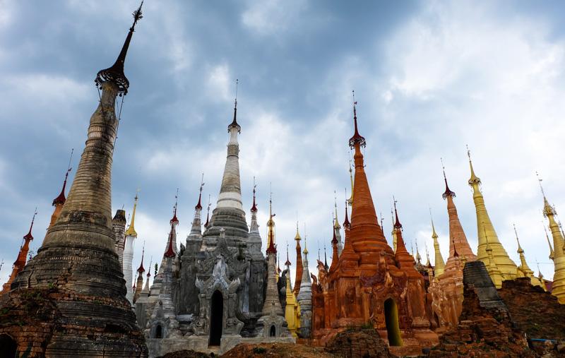 viaggio in Birmania, stupa