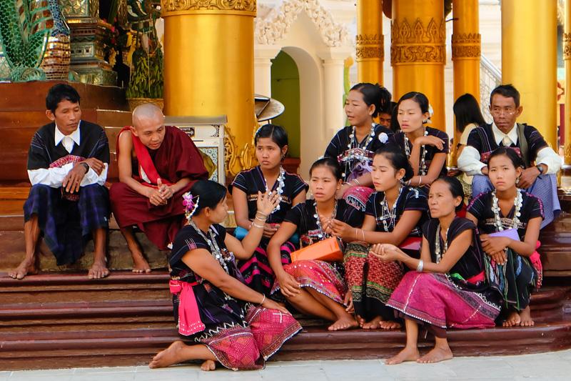 Viaggio alla Shwedagon pagoda