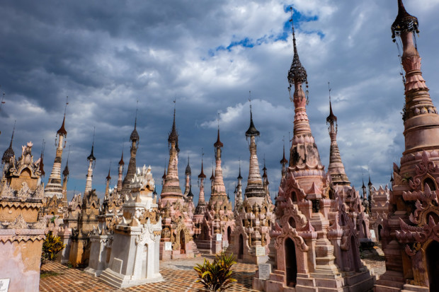 Birmania: le pagode di Kakku
