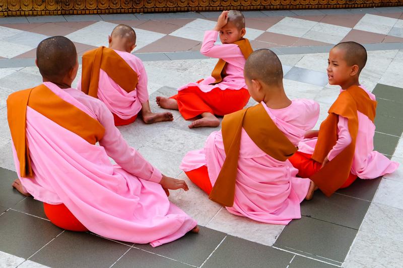 Viaggio Monache alla pagoda