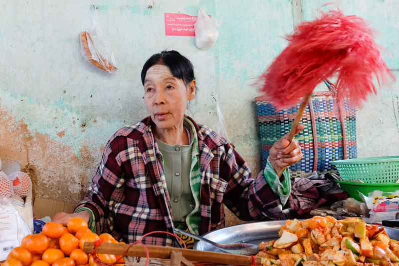 viaggio in Birmania, mercato